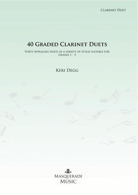 40 GRADED CLARINET DUETS