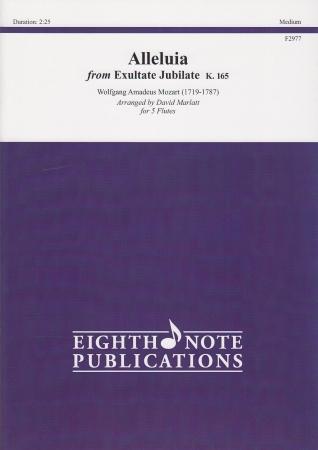 ALLELUIA from Exultate Jubilate