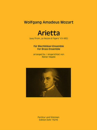 ARIETTA from The Marriage of Figaro, KV492 (score & parts)