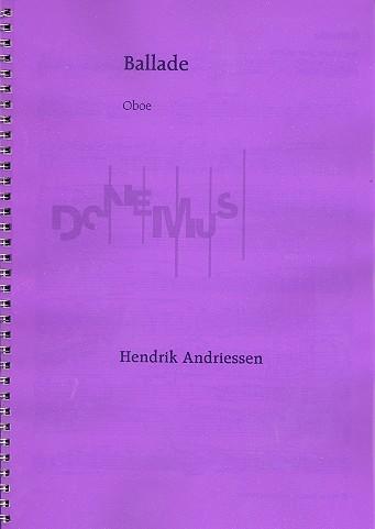 BALLADE Oboe Part