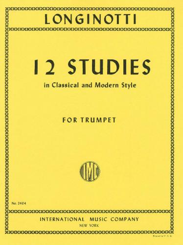12 STUDIES in Classical and Modern Style