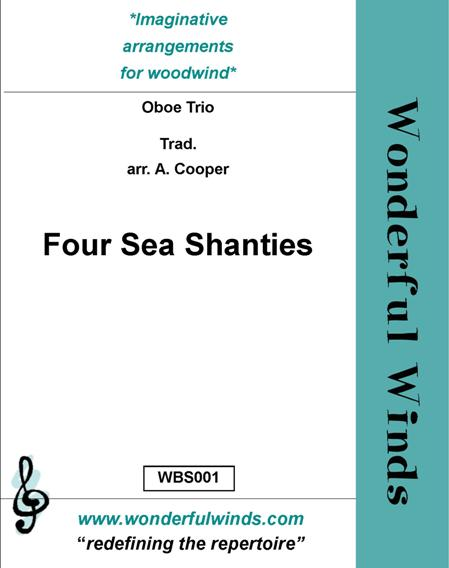 FOUR SEA SHANTIES score & parts