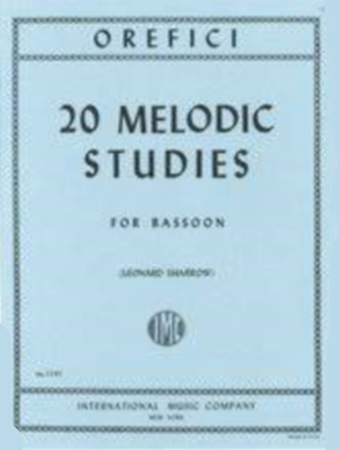 20 MELODIC STUDIES