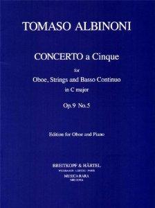 CONCERTO Op.9/5 in C