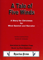A TALE OF FIVE WINDS (score & parts)
