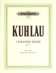 THREE GRANDS SOLOS Op.57