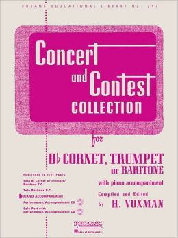CONCERT AND CONTEST COLLECTION piano part