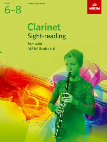 CLARINET SIGHT-READING TESTS Grade 6-8 (from 2018)
