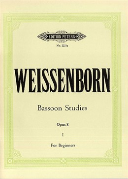 BASSOON STUDIES Op.8 Volume 1