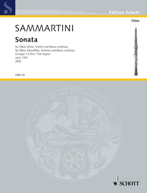 SONATA in G major Op.13 No.4