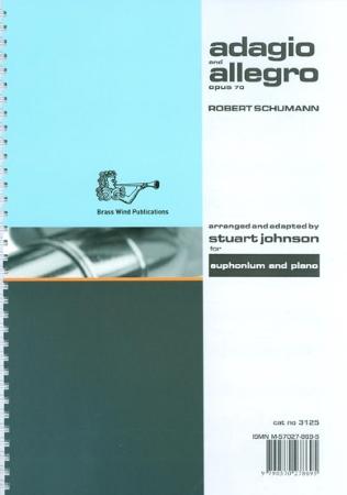 ADAGIO & ALLEGRO Op.70 treble & bass clef