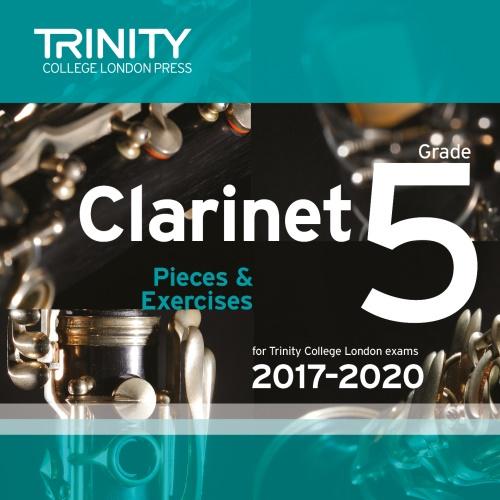 CLARINET PIECES 2017-2020 Grade 5 CD