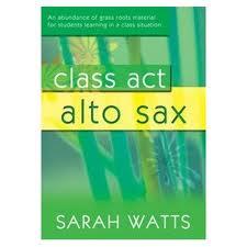 CLASS ACT ALTO SAX Book 1 + CD