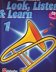 LOOK, LISTEN & LEARN Book 1 + CD (bass clef)