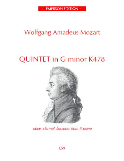 K478 in g minor