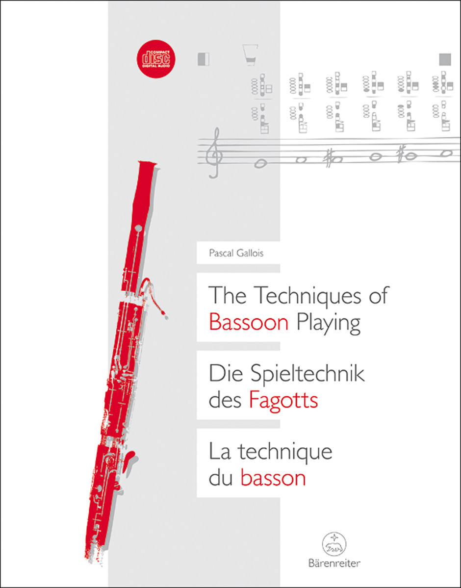 THE TECHNIQUES OF BASSOON PLAYING + 2 CDs