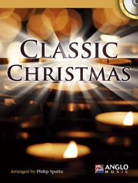 CLASSIC CHRISTMAS + CD (bass clef)