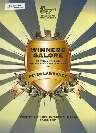 WINNERS GALORE for Treble Brass+ CD (F/Eb Edition)