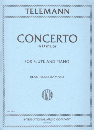 CONCERTO in D major TWV Anh.51:D