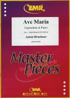 AVE MARIA treble/bass clef