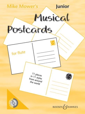 JUNIOR MUSICAL POSTCARDS + CD
