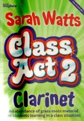 CLASS ACT CLARINET Book 2 student's book + CD