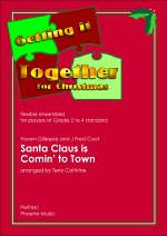 SANTA CLAUS IS COMING TO TOWN (score & parts)