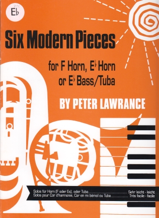 SIX MODERN PIECES Eb brass