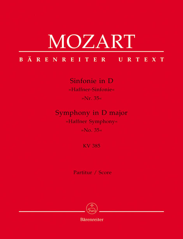 Symphony No.35 - Large Score Paperback