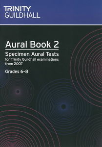 AURAL BOOK 2 + CD Grades 6-8 (2007-2016)