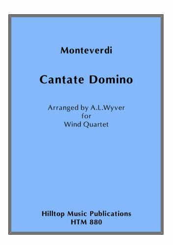 CANTATE DOMINO (score & parts)