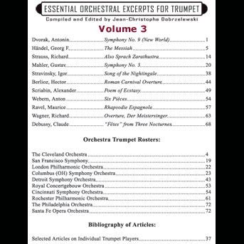 ESSENTIAL ORCHESTRAL EXCERPTS Volume 3