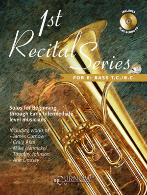 FIRST RECITAL SERIES + CD Eb bass in treble and bass clef
