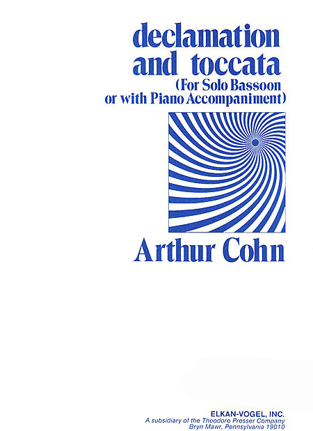 DECLAMATION AND TOCCATA