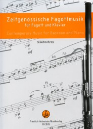 CONTEMPORARY MUSIC Volume 3 for bassoon and piano