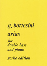 ARIAS FOR DOUBLE BASS AND PIANO