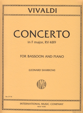 CONCERTO in F major FVIII/20 PV305 RV489 Op.40 No.21