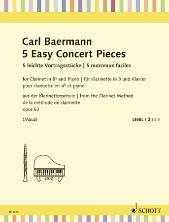 5 EASY CONCERT PIECES