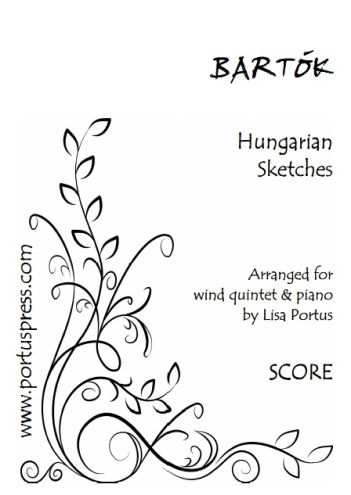 HUNGARIAN SKETCHES (score & parts)