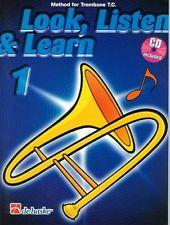 LOOK, LISTEN & LEARN Book 1 + CD treble clef