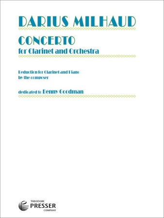 CLARINET CONCERTO Op.230