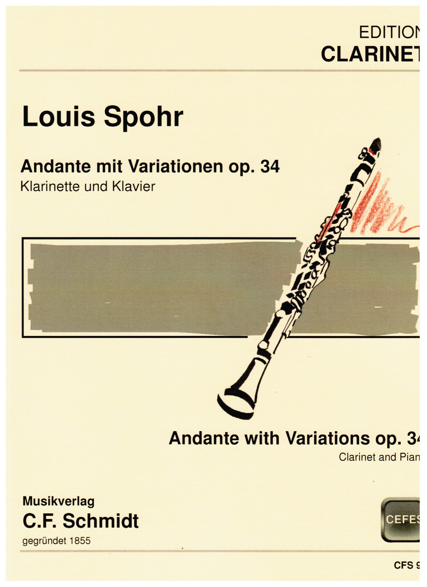 ANDANTE WITH VARIATIONS Op.34
