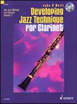 DEVELOPING JAZZ TECHNIQUE Volume 2 + CD Bb edition
