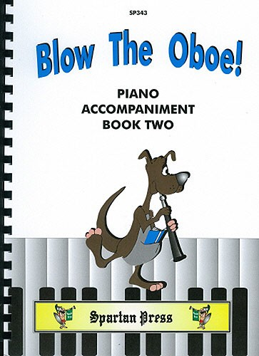 BLOW THE OBOE Book 2 piano part