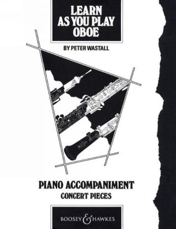 LEARN AS YOU PLAY OBOE Piano Accompaniment