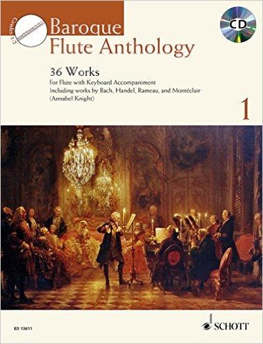 BAROQUE FLUTE ANTHOLOGY Volume 1 + CD