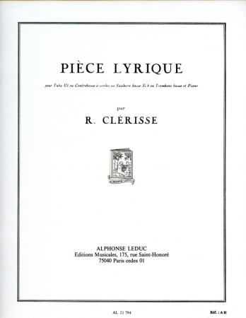 PIECE LYRIQUE