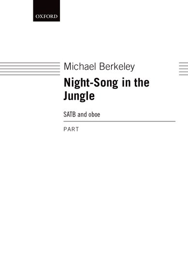 NIGHT SONG IN THE JUNGLE Oboe Part