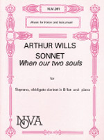 SONNET: WHEN OUR TWO SOULS