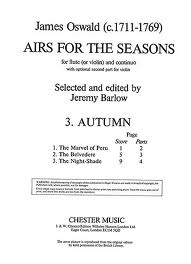 AIRS FOR THE SEASONS: Autumn